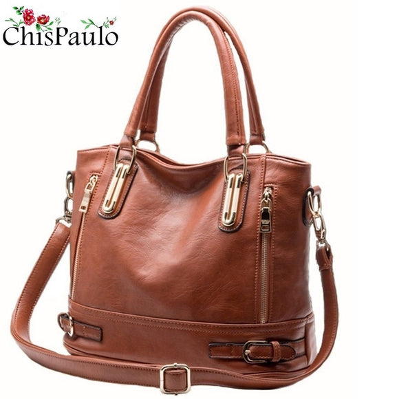 Women Bag 2019 Luxury Brand Designer Casual Women Genuine Leather Handbags