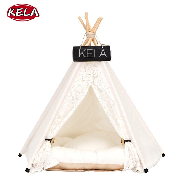 Pet House Cute dog tent outside tent Pet Dog House