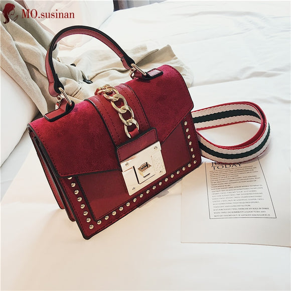 Women Bags Brand Handbag Luxury Small Crossbody Bags for Women 2019 Fashion High Quality Leather Messenger Bag Female Tote Red