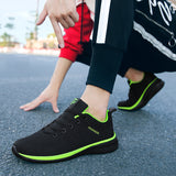 Men Breathable Walking Shoes Lightweight Sneakers