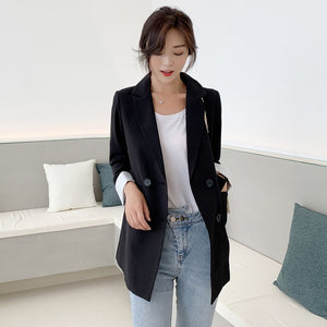 Women Jackets Notched-neck Yellow Women Blazer Jacket