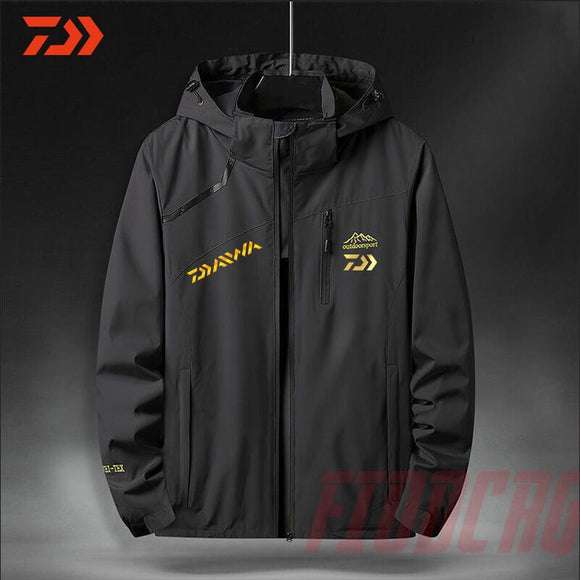 2020 New Fishing Clothing Winter Men Outdoor Sports Windproof Waterproof Clothes Fishing Jacket