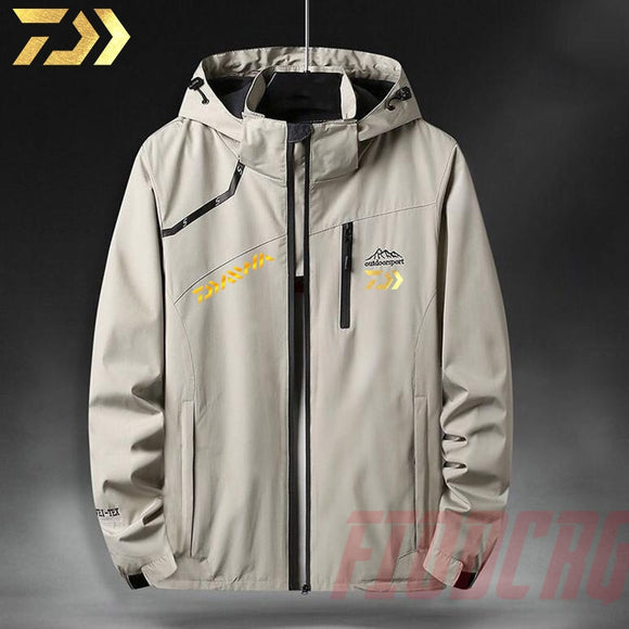2020 New Winter Men Breathable Outdoor Sports Windproof Waterproof Clothes Fishing Jacket Clothes Suit
