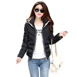 TAJIYANE Winter Jacket Women Korean Ladies Slim Coats Short Cotton Feminino ZL244