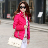 TAJIYANE Winter Jacket Women Slim Coats Short Cotton Feminino ZL244