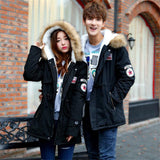 Mens Winter Slim Thicken Fur Warm Brand Clothing Casual Coat