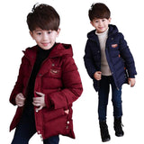 Boys clothes kids winter cotton coat children Hooded Jackets