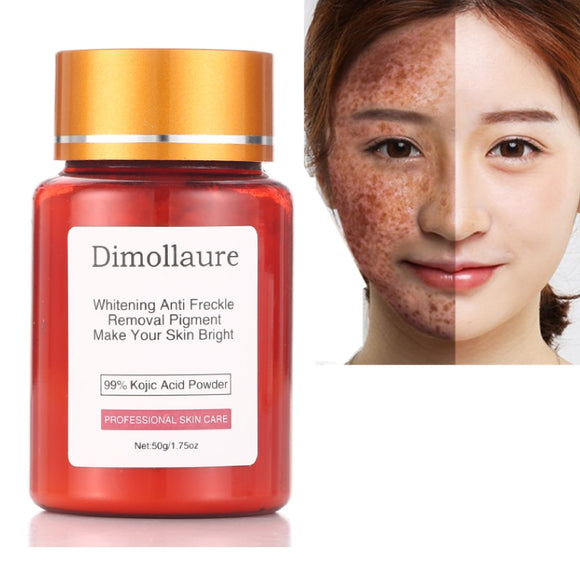 99% Kojic Acid face whitening cream remove Freckle melasma Acne Spots