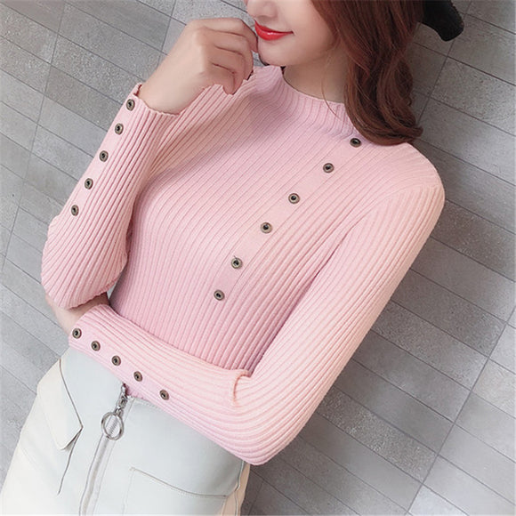 Women Sweater Turtleneck Sweaters Women Korean Fashion Woman Knitted Sweaters