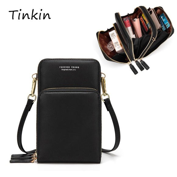 Colorful Cellphone Use Card Holder Shoulder Bag for Women
