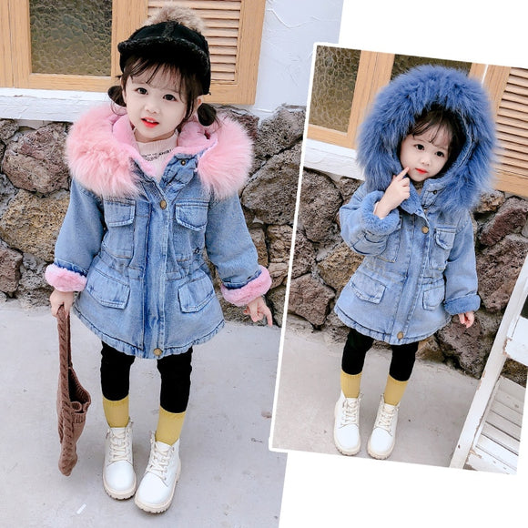 Winter Girls Denim Jacket