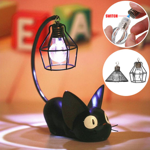 LED Night Light Creative Resin Cat Animal Night Light