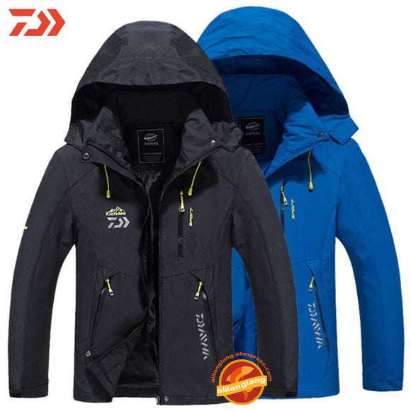 Winter Fishing Clothes Fishing Jackets Outdoor Camping Clothing Men Autumn Waterproof Keep Warm Jackets