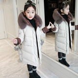 Girls Down Jackets Baby Outdoor Warm Clothing Thick Coats