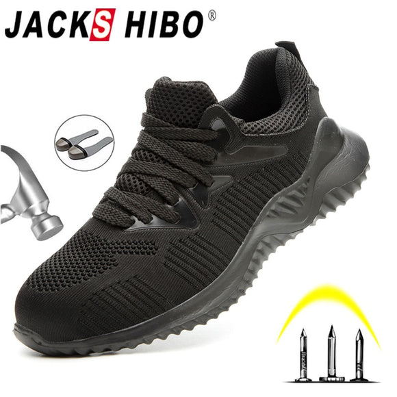 Men Shoes Boots Male Autumn Steel Toe Boots Sneakers