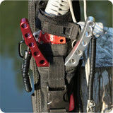 New Fishing Multifunctional Plier Fishing Lanyards Boating Ropes Kayak Camping Secure Pliers Lip Grips Tackle Fish Tools