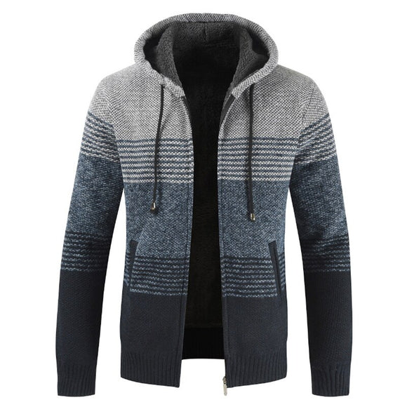 Mens Coats and Jackets Casual Hooded Zipper Coats