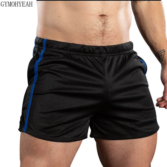 Men Fitness Bodybuilding Shorts Breathable Quick Dry Short