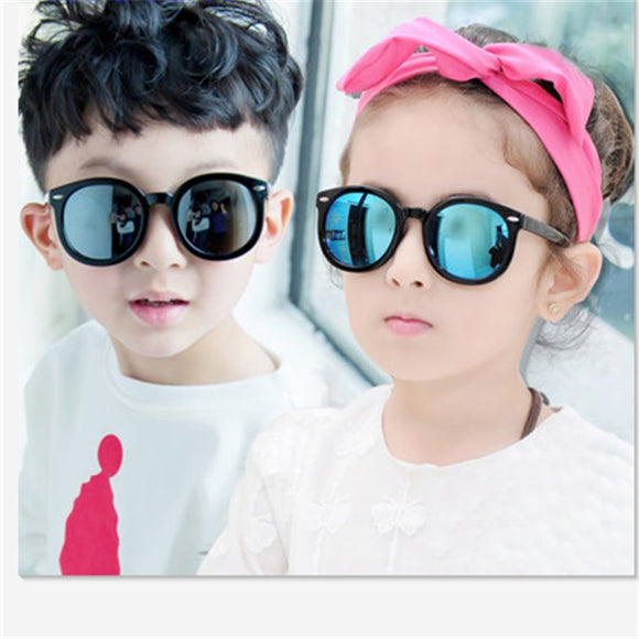 Fashion brand children's sunglasses kids UV protection
