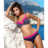 Sexy Print Swimwear Women Bikini Set Push Up Swimsuit
