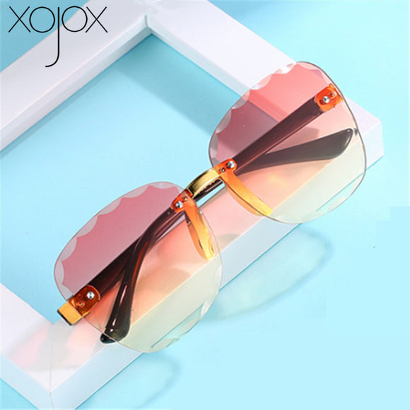 Kids Sunglasses Rimless Sun Glasses UV400 Children Eyeglasses