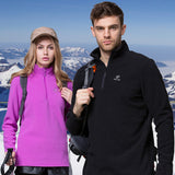 Men Women's Winter Fleece Softshell Jacket
