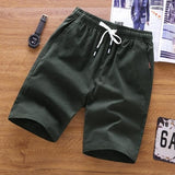 Men Summer Shorts Homme Quality Bottoms Elastic Waist Plus Size 5XL