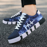 Men Casual Shoes Light Canvas Shoes Comfort Sneakers