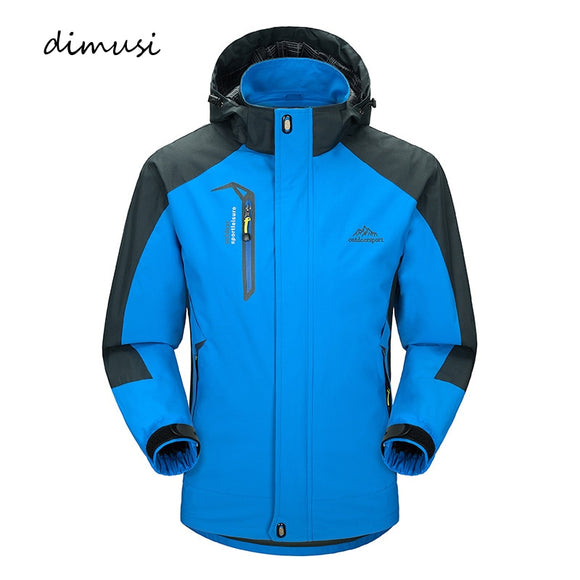 DIMUSI Casual Army Waterproof Windbreaker Jackets