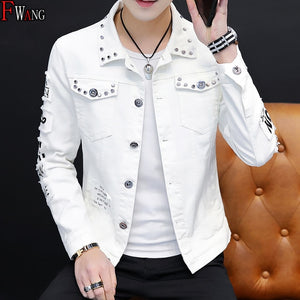 Men's Korean-style Fashion Handsome Versatile Jacket MEN'S Wear