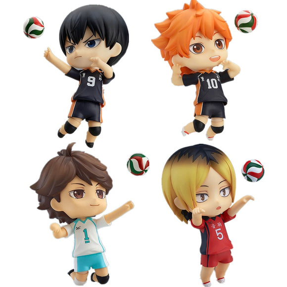 Haikyuu PVC Action Figure Shoyo tobio Kenma Tooru Cute Toy
