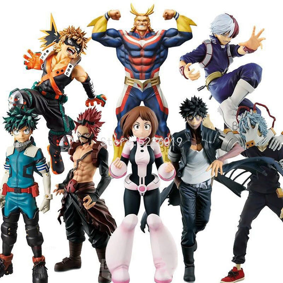My Hero Academia Anime All Hero Academia Action Figure Toys