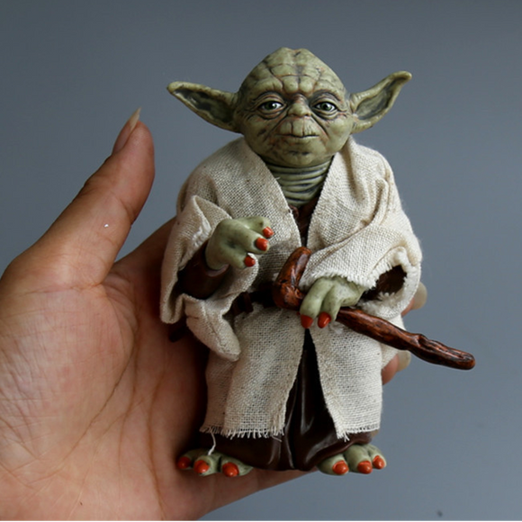 Disney Star Space Wars Master Yoda PVC Action Figure Toy Yoda Model