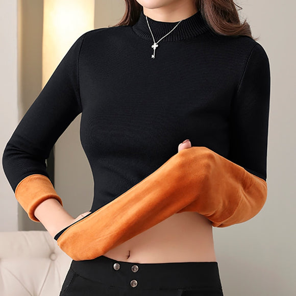 Heliar Thermal Underwear Sweaters Johns Solid O-neck