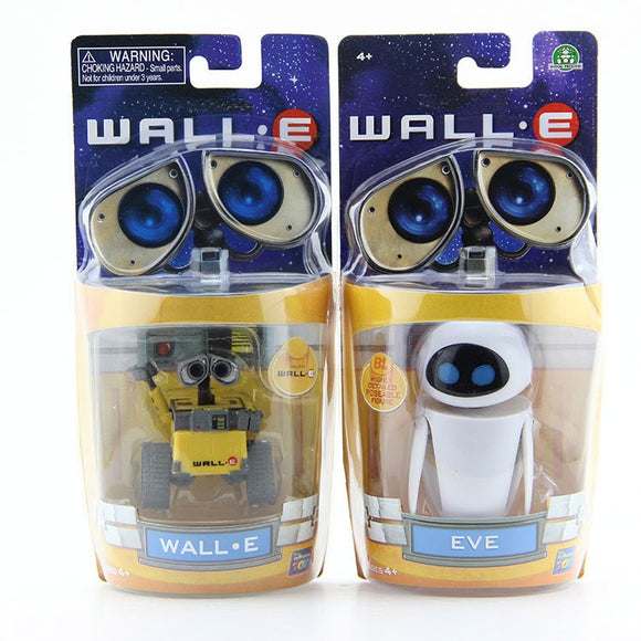 Wall-E Robot Wall E & EVE PVC Action Figure Collection Model