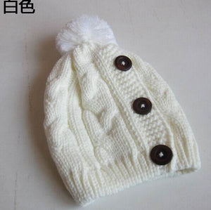 New  Winter Cap Women Warm Woolen Knitted Fashion Hat