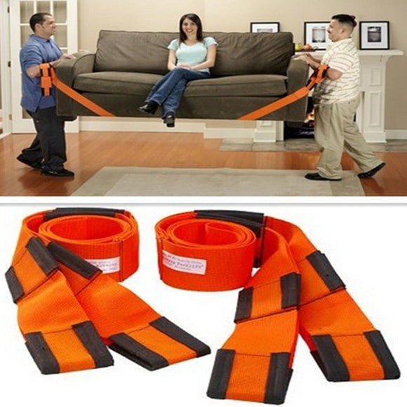 ! 2PCS Moving Straps  Delivery Transport Rope Belt  Carry Furnishings