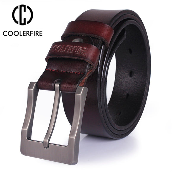 Genuine leather belt for men designer high quality fashion