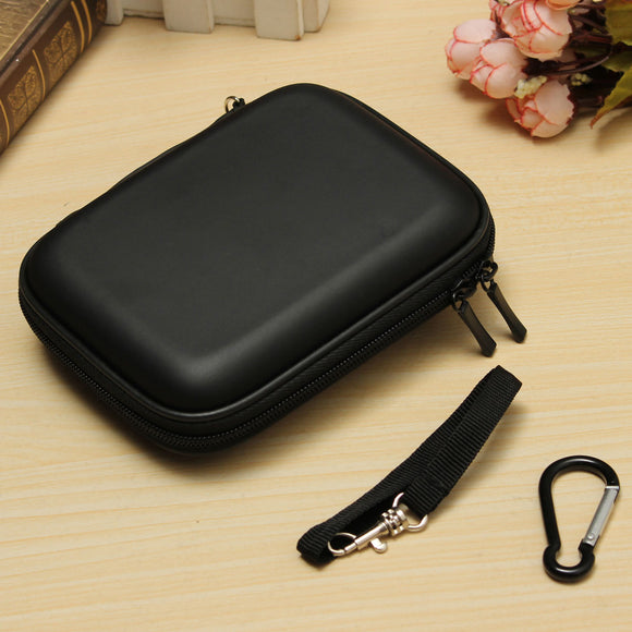 External Hard Drive Carrying Case Usb Cable Case Cover Pouch Earphone Bag Waterproof Compressive Drop Detection Hight Quality
