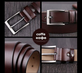Men belt cow genuine leather designer belts for men