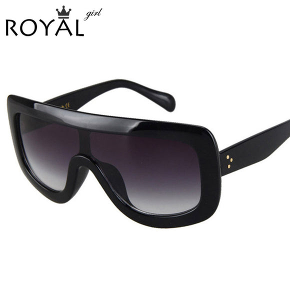 ROYAL GIRL Brand Designer Oversized Sunglasses Women Fashion Women Men Sun Glasses ss004