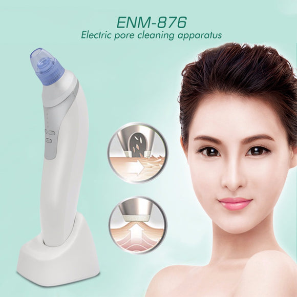 ENM-876 Professional Blackhead Vacuum Cleaner Suction Removal Machine Electric Face Cleaning Skin Care Machine Tool