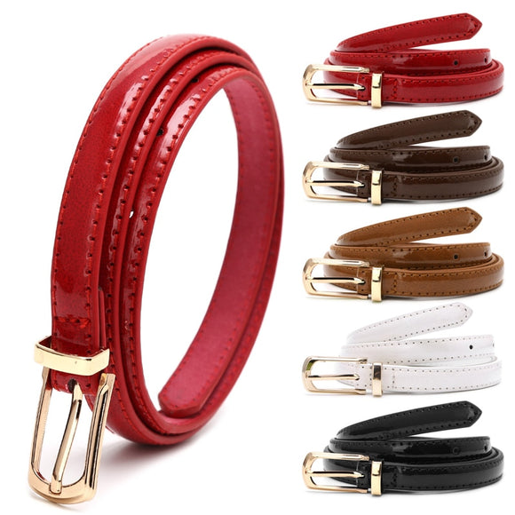 Candy Color Metal Buckle For Women Waistband For Apparel Accessories