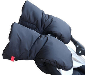 Winter pram hand muff baby warm  Fleece hand cover Muff Glove