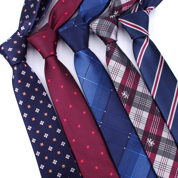 Men ties necktie Men's vestidos business wedding tie Male Dress legame gift gravata England CJACQUARD WOVEN 6cm