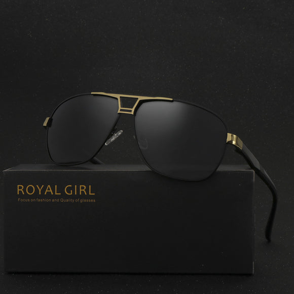 ROYAL GIRL High Quality Men Sunglasses Classic Brand Driving Sunglasses