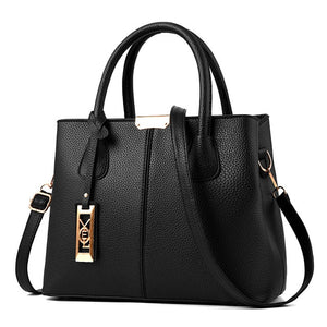Aliwood New Simple Women bag PU Leather handbags Ladies
