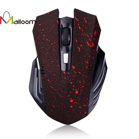 Malloom 2016 Christmas Gift USB 2.0 Receiver 2.4Ghz Wireless Computer Mouse Cordless Game Mouse For PC Sale