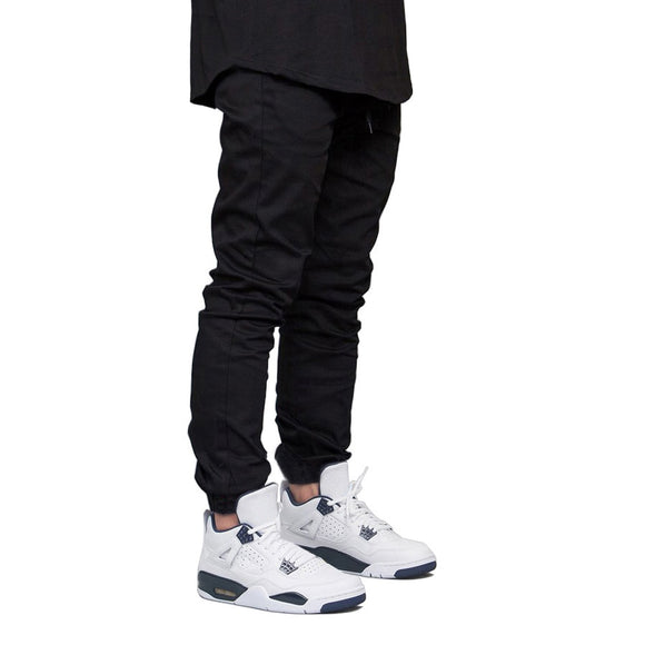 Men Jogger Pants Fashion Hip Hop Harem Stretch Joggers Runner Pants