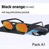 Polarized men women Sunglass Classic fashion retro Brand Coating Drive